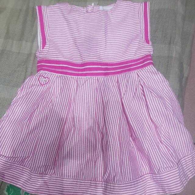 84ebf40d8d9 Preloved Chateau De Sable Baby Dress Size 6 Mos