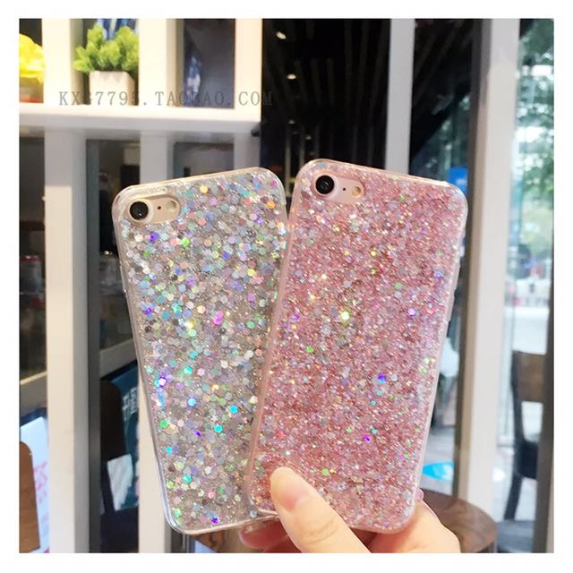 Ready Stock Bling Bling iPhone Soft Casing