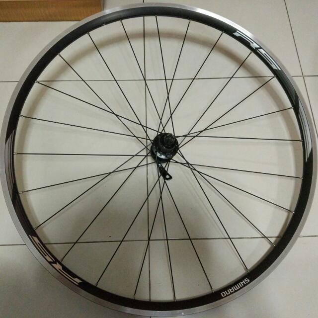 6e958c036fd Shimano RS10 Front And Rear Wheel Set 9/10/11-speed Compatible, Bicycles &  PMDs, Bicycles on Carousell