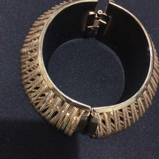 Rustic Gold Bracelet