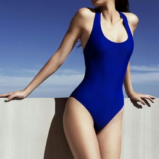 Scoop Back One Piece Swimsuit