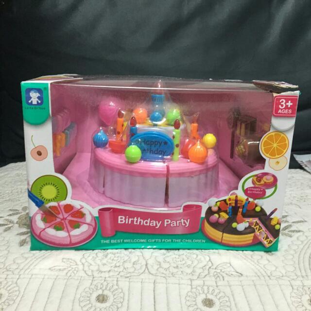 Singing Birthday Cake Toys Games Bricks Figurines On Carousell