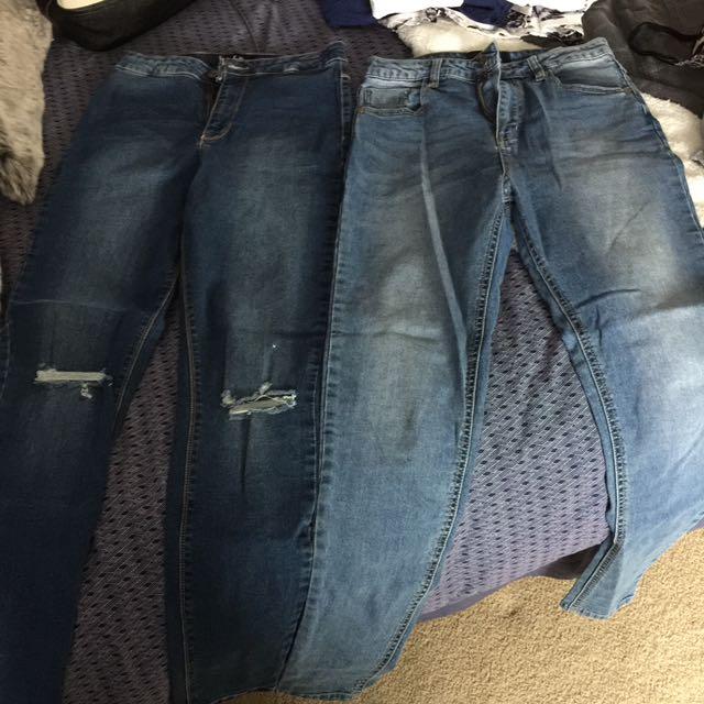 Size 10 Dark Blue Jean