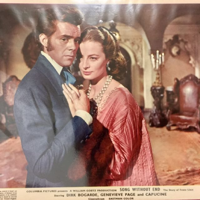 """SONG WITHOUT END (1960) Color Movie Still #4 8""""x10"""""""