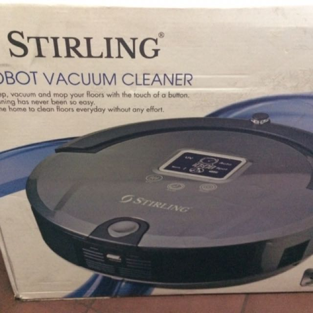 Stirling Robot Vacuum Cleaner