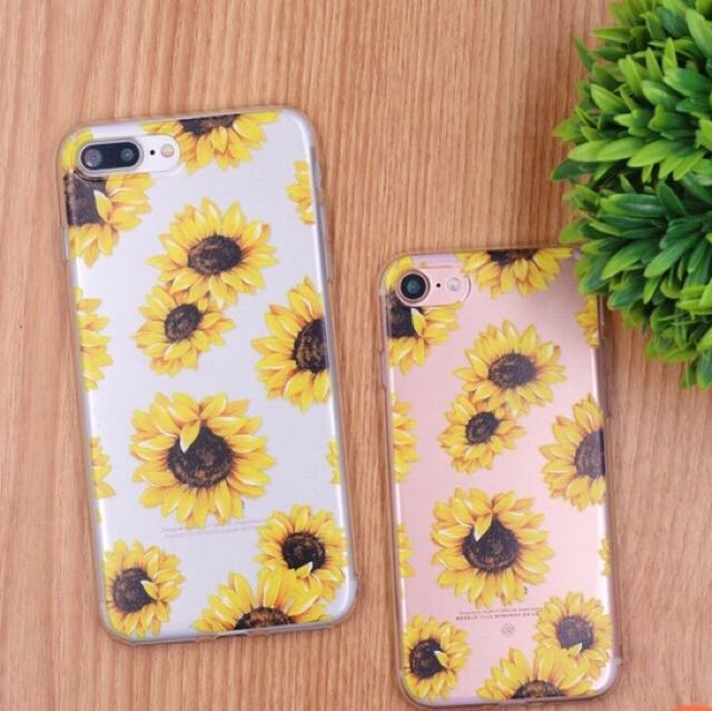 the latest 7d976 013ee Sunflower Clear Case