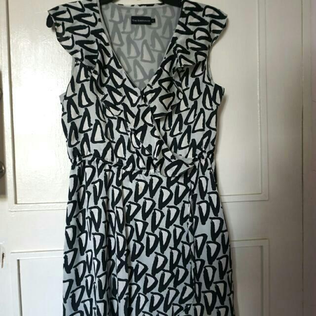 The Executive - Ruffled Dress