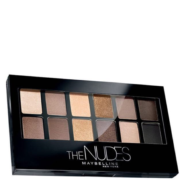 The NUDES Maybelline Eyeshadow Pallete