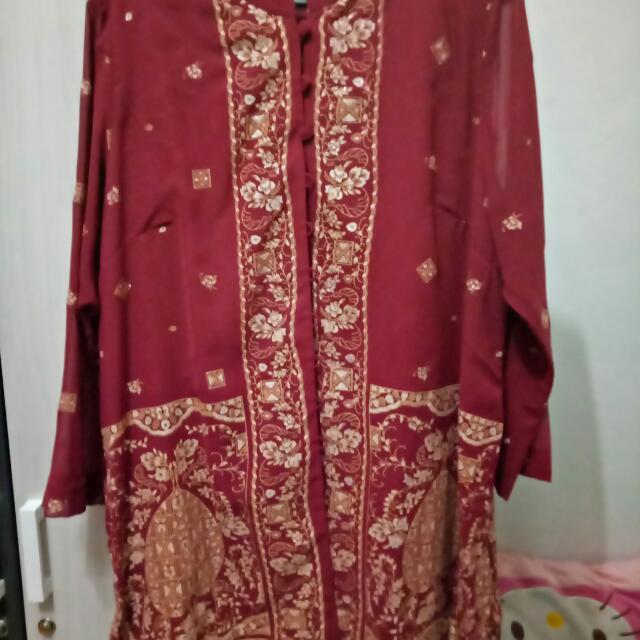 Tunik Batik Bahan Jatuh
