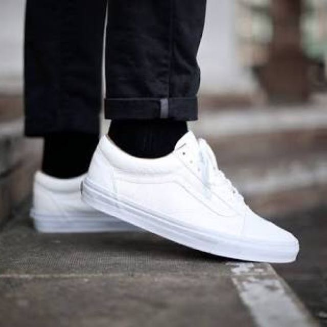 Vans Old Skool Triple White