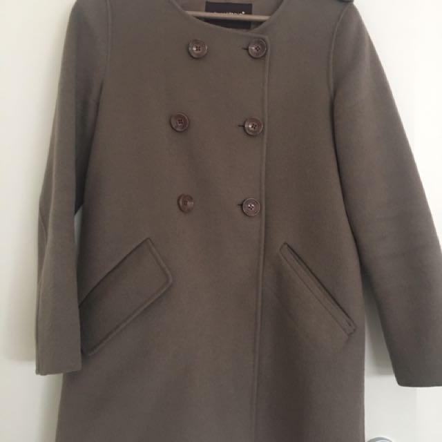 Warm Wool Women Coat