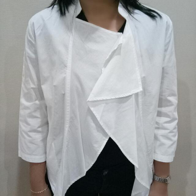 White detail Jacket