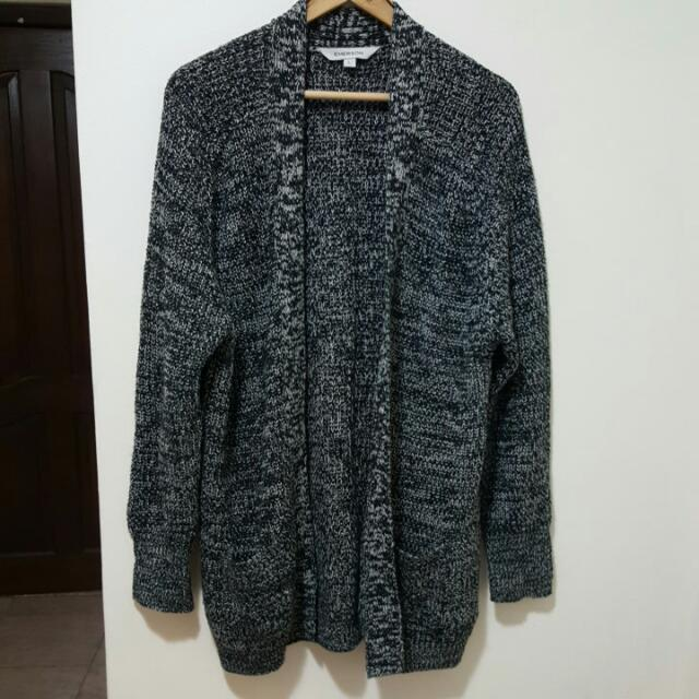 womens boyfriend oversized knit cardigan