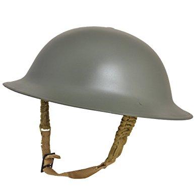 (PO) WWII Replica British Brodie Helmet (METAL)
