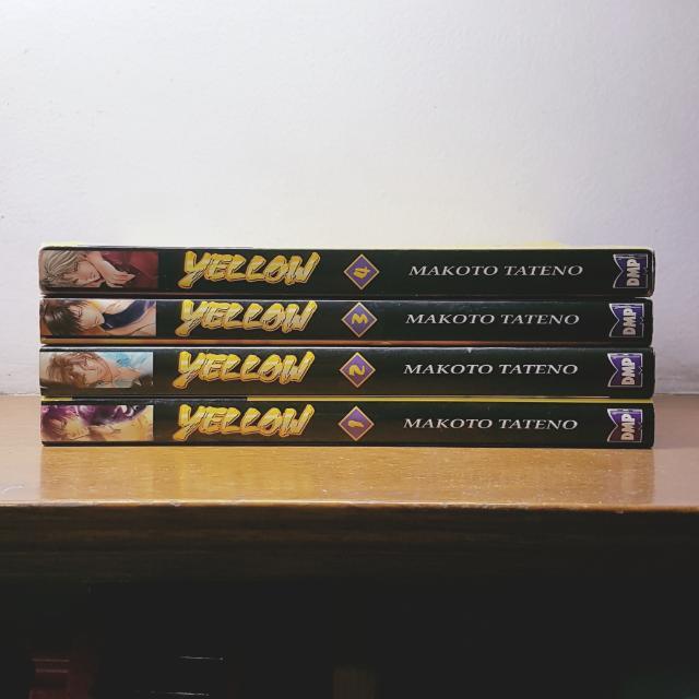 YELLOW Vols. 1-4