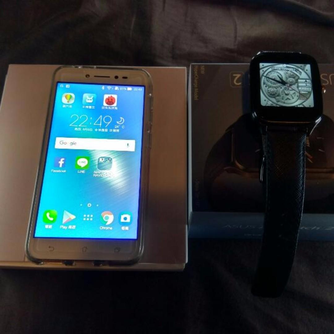 華碩ZenFone  Live 加上  Zenwatch 2不議價台北面交自取