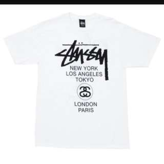 Stussy SS17 World Tour Tee