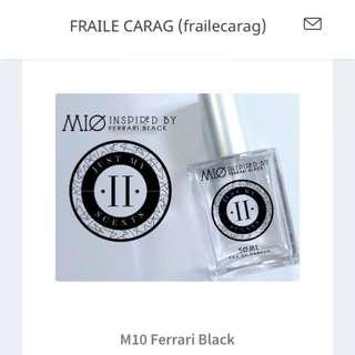 M10 Ferrari Black