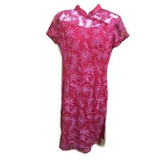 Floral Lace Cheongsam