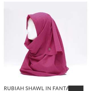 Rubiah Shawl HPC (100rb utk 2Pcs)