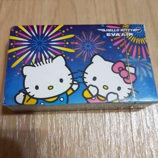 長榮航空Hello kitty撲克牌