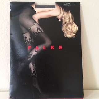 FALKE Grey Tights S/M