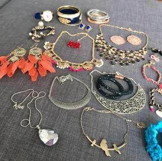 Various Jewelry pieces