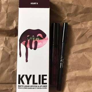 Kylie Lip Kit In Kourt K