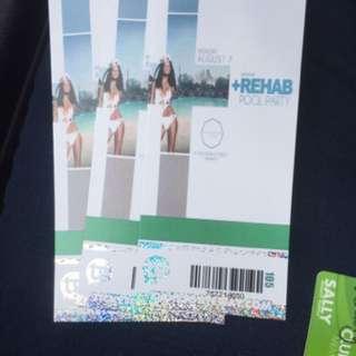 Carnival Rehab Tickets