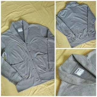 Old Navy Grey Cardigan-Jacket Original