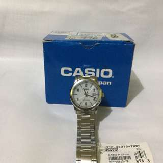 Casio Solar-Powered Watch