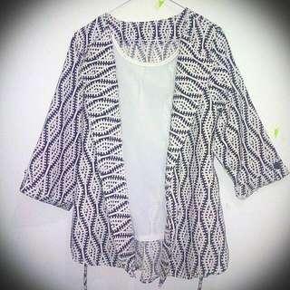 Casual Cardy Blazer Batik