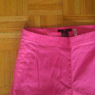 Neon Pink High Waisted Pants From H&M