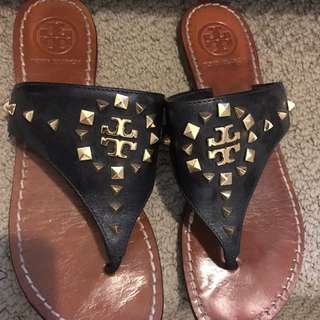 Tory burch Studded Sandals Size 7