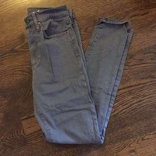 Grey Jeans Size 28