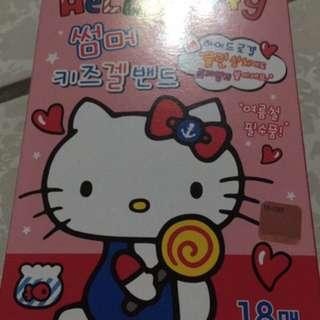 韓國卡通Hello Kitty 機器戰士 止癢貼片