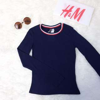 ‼️H&M Navy Casual T-shirt 😍 (new)