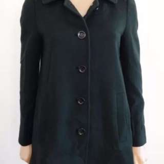 Gorman Green Wool Coat - Size 6