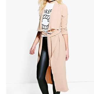 Boohoo Waterfall Duster