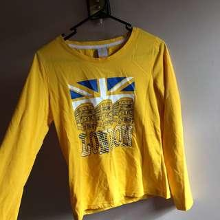 London Yellow Shirt