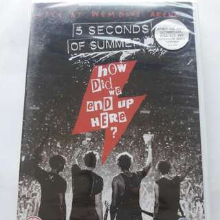 5SOS 5 Seconds Of Summer DVD ALBUM CD