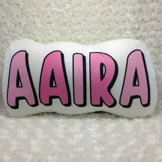 Customised Name Cushion Pillow