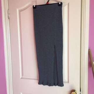 Side Split Skirt