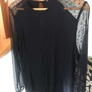 Witchery Polkadot Top