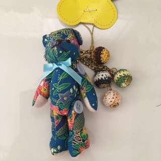 Cute Bear Which Can Hang On Ur Bag As Decorations
