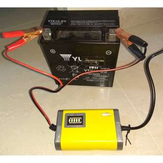 Car/Motorcycle Float Battery Charger