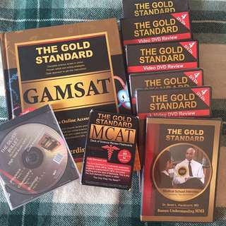 BRAND NEW GAMSAT STUDY BUNDLE
