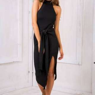 Black Orlando Evening Dress