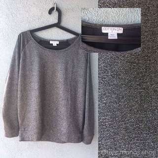 Cotton On Gray Sweater