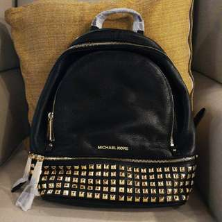 Authentic Michael Kors MK Studded Backpack